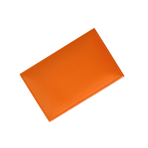 lead namecard wallet orange