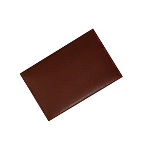 lead namecard wallet brown