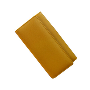 aubade wallet yellow