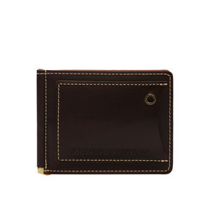 Re-entry moneyclip Brown