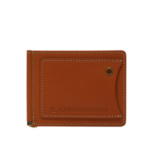Re-entry moneyclip Caramel