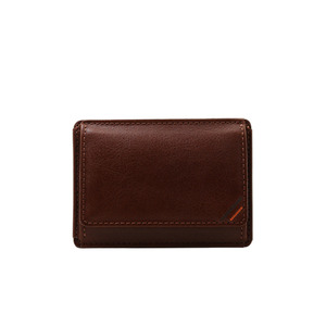 Dualline Card Wallet brown