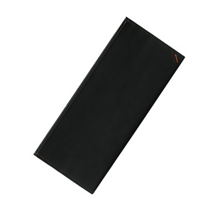 Dualline Flat Long Wallet black
