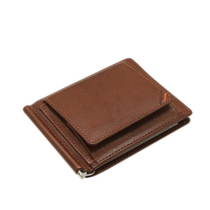 Dualline moneyclip Brown