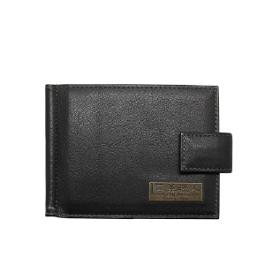 time moneyclip black